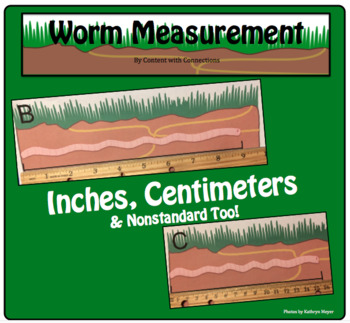 Worm Measurement Lesson: Inches, Centimeters & NonStandard