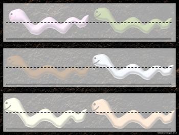 Worm Name Plates