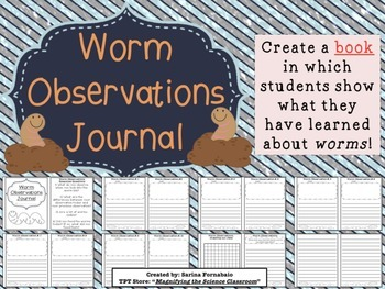 Worm Observations Journal Activity
