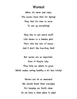 Worm Poem!
