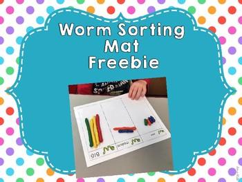 Worm Sorting Mat Freebie!