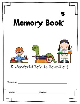 Worm Theme End Of Year Book