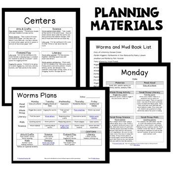Worm Theme Preschool Classroom Lesson Plans