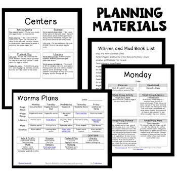 Worm Theme Preschool Lesson Plans