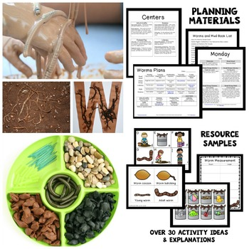 Worm Theme Preschool Lesson Plans