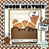 Worm Weather Spring Book Companion Craft
