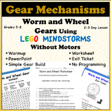 Worm and Wheel Gears Using LEGO Mindstorms without Motors