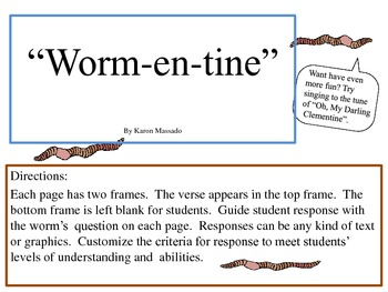 """Worm-en-tine"" (A Tribute to Worms & Soil)"