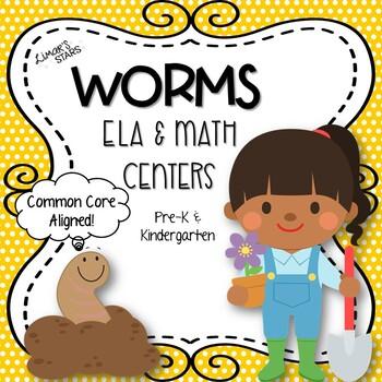 Worms ELA & Math Centers