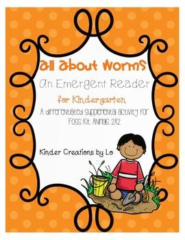 Worms Emergent Reader (Animals 2x2)