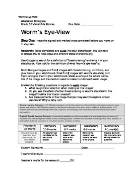 Worm's Eye View