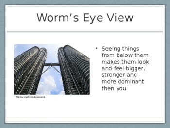 Worm's Eye View Presentation