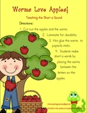Worms Love Apples! Teaching the Short a Sound