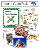 Worms - Worm Farming Composting Pack