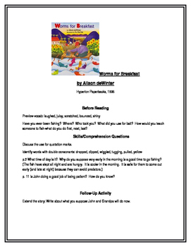 Worms for Breakfast for Guided Reading (Hyperion Paperbacks)