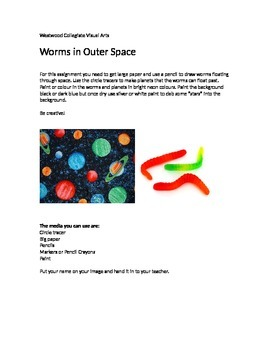 Worms in Outer Space- Special Needs