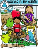 Worms in the Garden Clip Art Set - Chirp Graphics