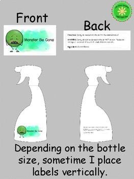 Help Me Feel Better Coping and Calming Spray Free