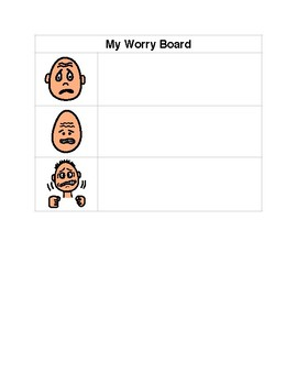Worry Board - Address Student Anxiety