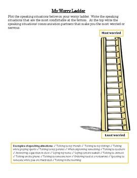 Worry Ladder for Fluency