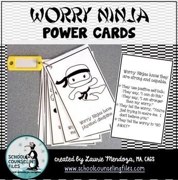 Worry Ninja Power Cards