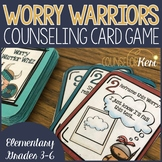 Worry Warriors Counseling Game: Worry Activities Card Game