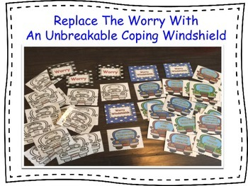 Worry Windshields: Anxiety Management Activities using CBT