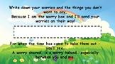 Worry box template
