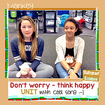 Worry - dealing with anxiety interactive notebook and song