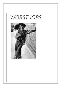 Worst Jobs in History Industrial Worksheets
