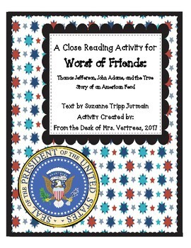 Worst of Friends Close Reading Activity