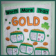 Worth More Than Gold {A Writing Craftivity} & MORE!