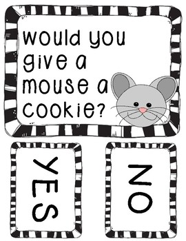 Would You Give a Mouse a Cookie? FREEBIE