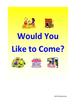 Would You Like to Come... Game for ELD Students