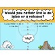 Would You Rather Questions for Discussion