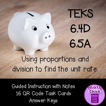 Unit Rates with Real World Situations - Would You Rather?  TEKS 6.4D 6.5A