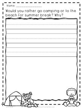 Would You Rather Back to School First Grade