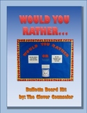Would You Rather Bulletin Board Kit