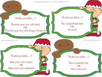 Would You Rather: Christmas style