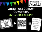 Would You Rather Conversation Starters with QR Codes