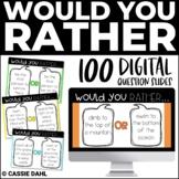 Would You Rather (Digital Resource-Google Slides)
