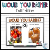 Would You Rather? (Fall) Movement Game | Zoom Games #ghost2020