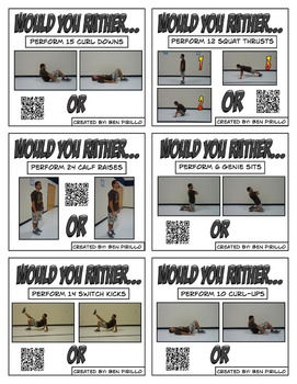 Would You Rather Fitness Activity