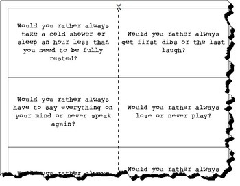 Would You Rather...? Game Cards, Set of 100--Set No.1