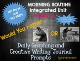 Would You Rather ... - Graphing and Creative Writing 150 Days!