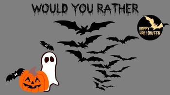 Halloween Would You Rather Printable