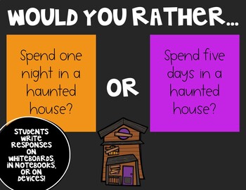 Would You Rather - Halloween Edition!