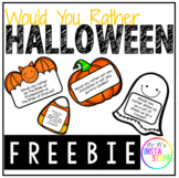 Would You Rather ? - Halloween Edition - FREEBIE