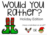Would You Rather? | Holiday Edition | Boom Cards