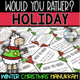 Would You Rather - Holiday Game for Christmas, Hanukkah, & Winter
